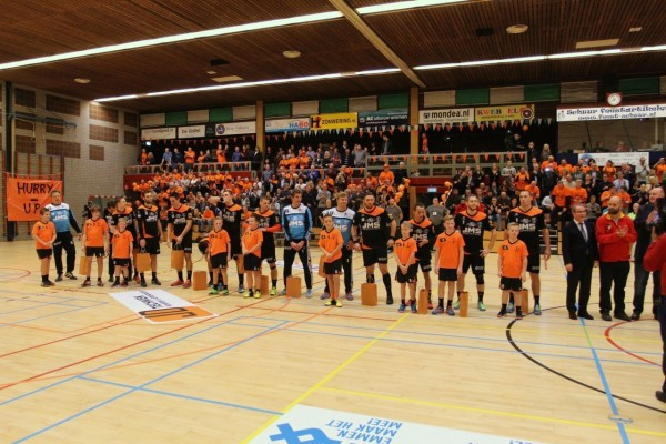 Europacupduel JMS Hurry-Up wederom in sporthal Angelslo