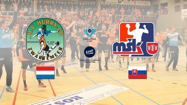 Europacup handbal! MSK Povazska Bystrica - JMS Hurry-Up