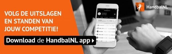 Nederlands Handbal Verbond lanceert nieuwe App