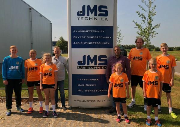 JMS Techniek steekt teams van JD Techniek Hurry-Up in het nieuw