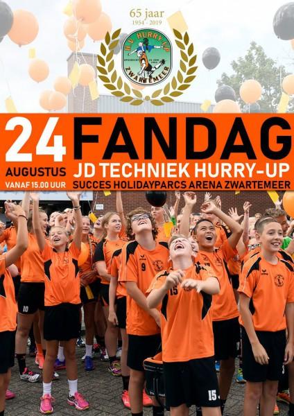 Zaterdag is de FANDAG!