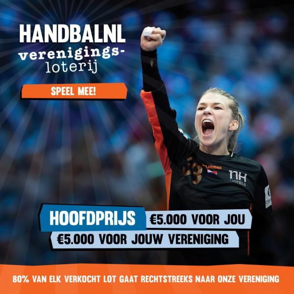 Steun ons en doe mee aan de HandbalNL Verenigingsloterij